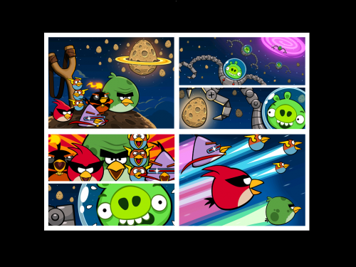 Angry Birds: Space - Мини - обзор Angry Birds:Space