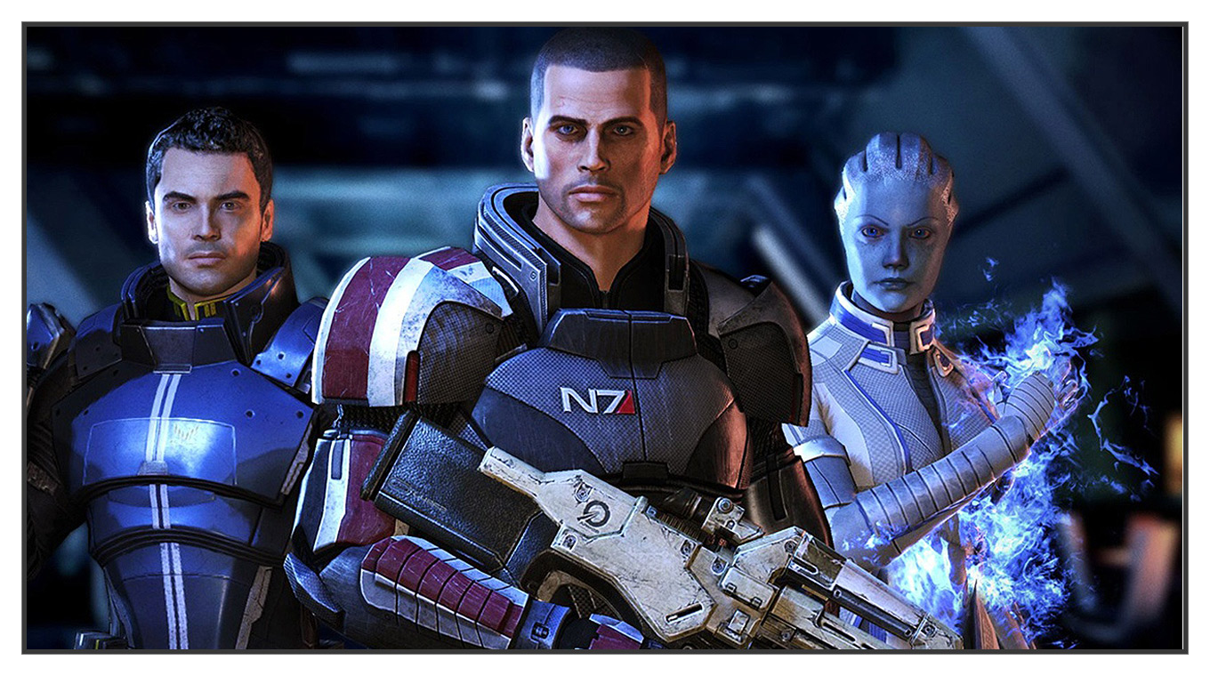 Mass effect 3 xxx comic