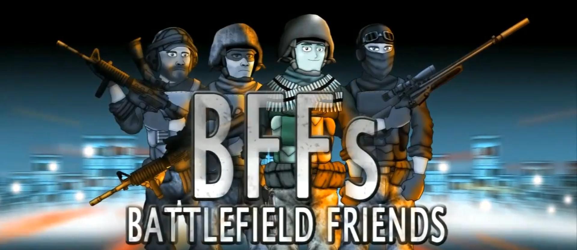 Друзья по Battlefield - Девушка-геймер (3 сезон, 12 серия)