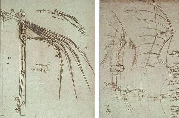 ли машина Леонардо?
