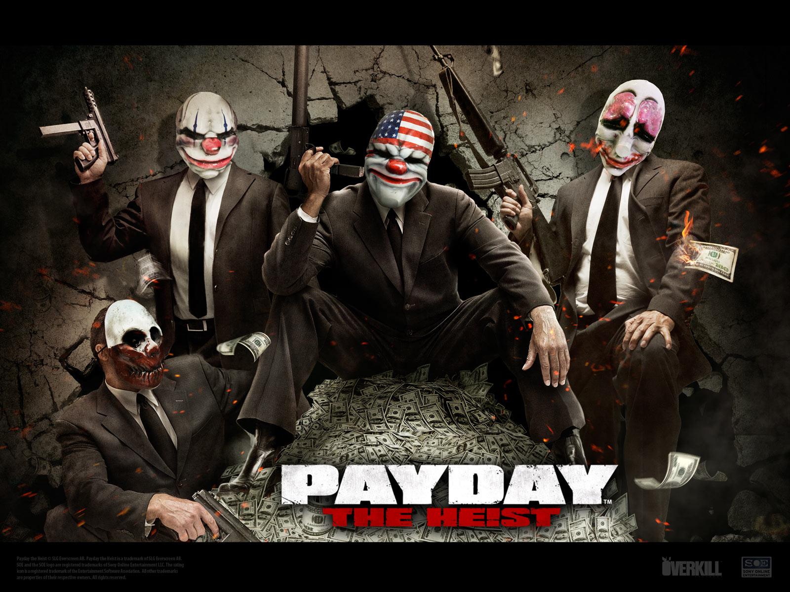 Аватарки Payday 2