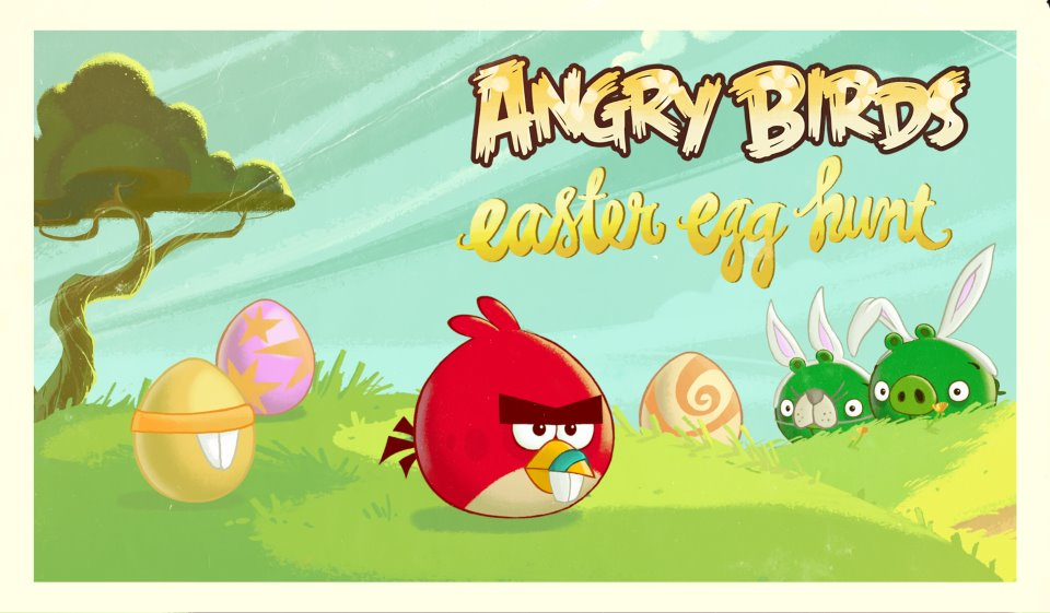 Easter Egg Hunt | Angry Birds Cheats