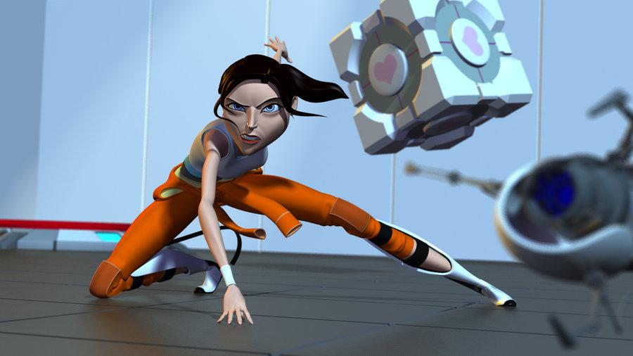 Portal 2: Аниматор серии Uncharted создает мультфильм по игр…