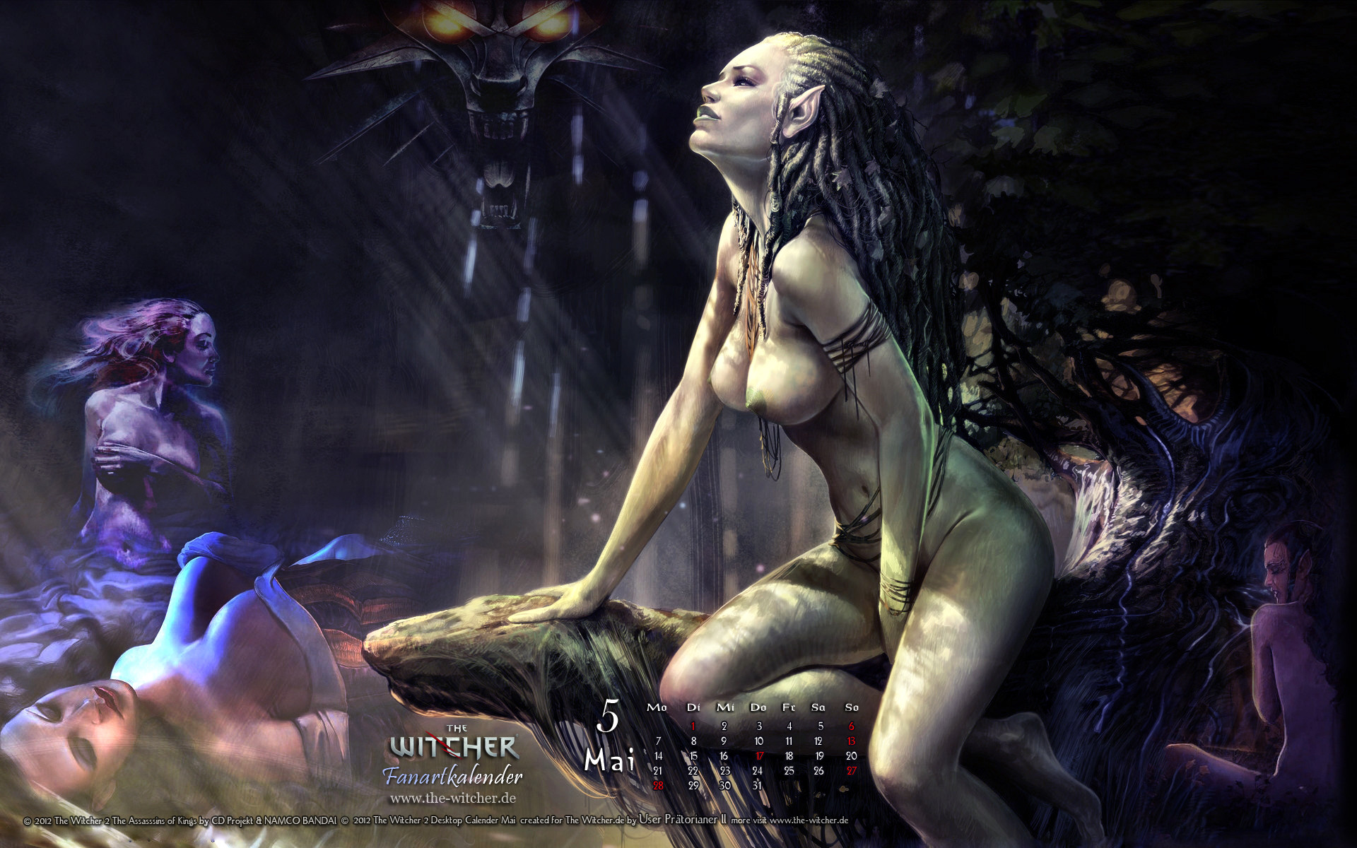 Witcher nymph nude sex galleries