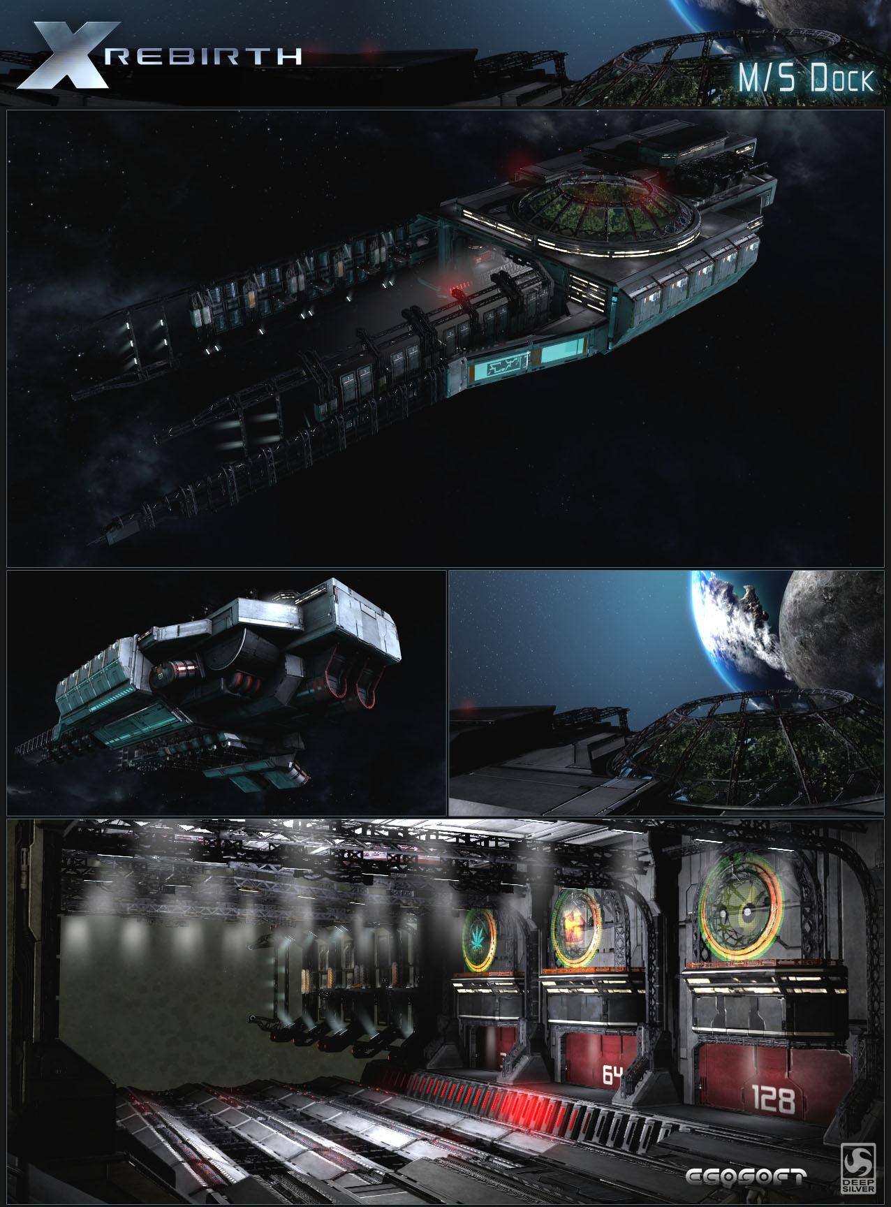 Концепт-арты и скриншоты — X Rebirth — Игры — Gamer.ru: социальная ...