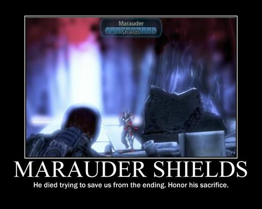 Mass Effect 3 - His name was Marauder Shields!