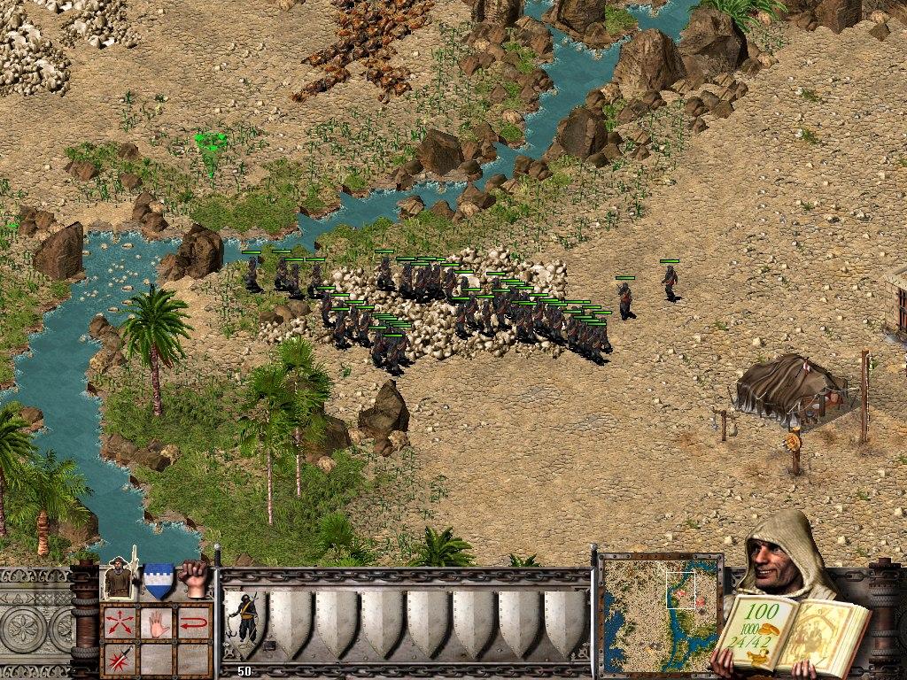 Stronghold crusader помощь в прохождении