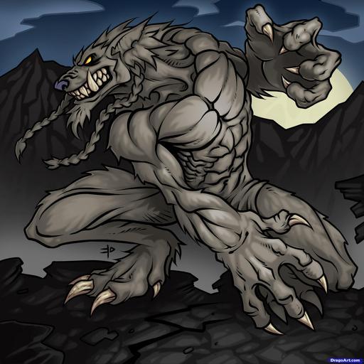 World of Warcraft - Рисуем воргена