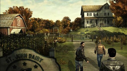 The Walking Dead - Скриншоты второго эпизода.