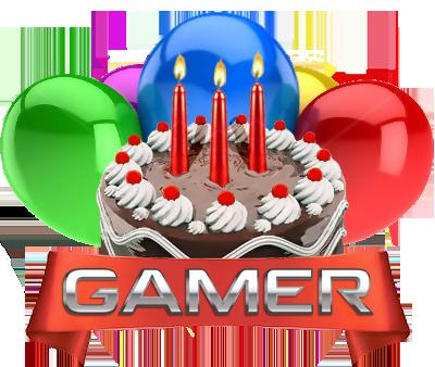 Игроману с днем рожденья или рождения поздравления