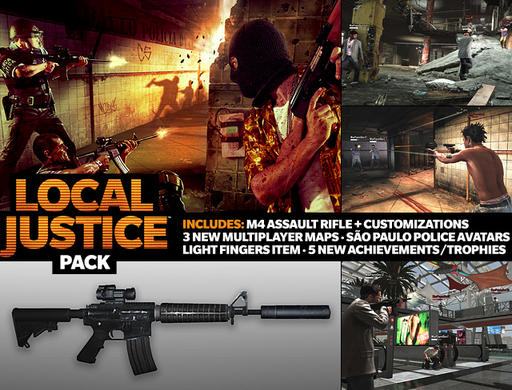 Max Payne 3 - Rockstar анонсирует Local Justice Pack DLC для Max Payne 3