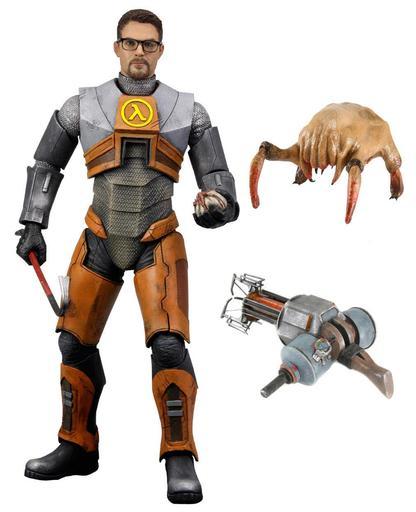 Half-Life 2 - Первая фигурка Гордона Фримена