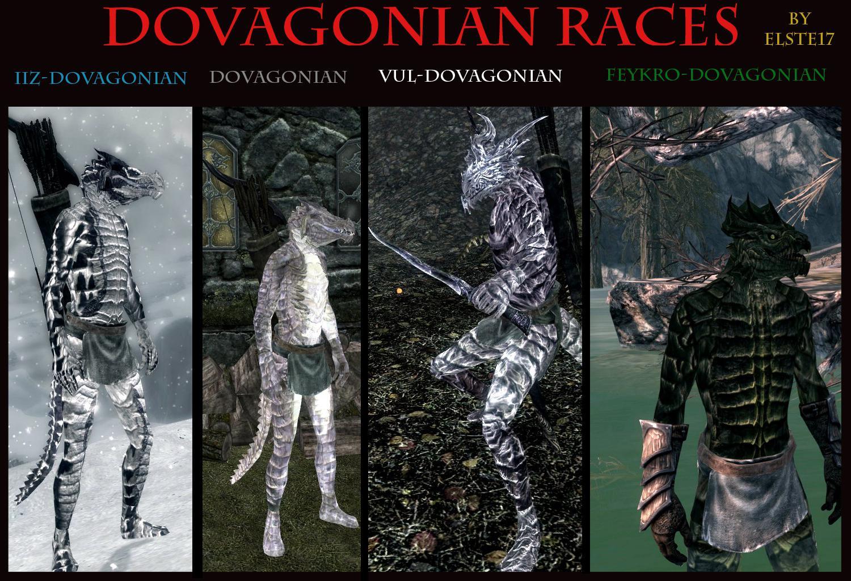 Скачать моды на скайрим расы драконов