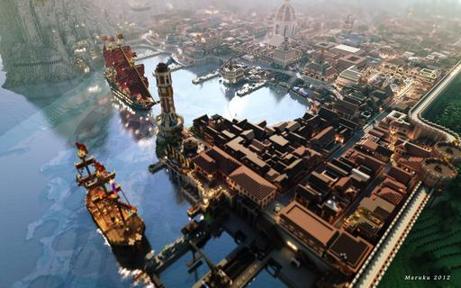 Minecraft - Game of Thrones в Minecraft