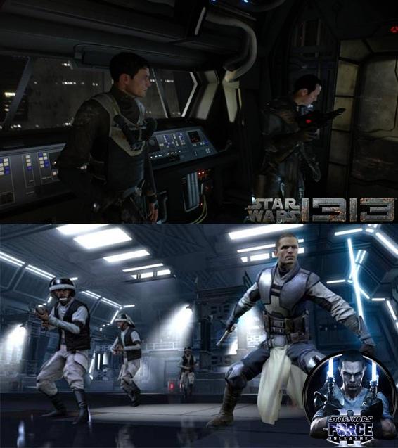 Сравнение графики Star Wars 1313 и Force Unleashed 2 ...: www.gamer.ru/star-wars-1313/sravnenie-grafiki-star-wars-1313-i...