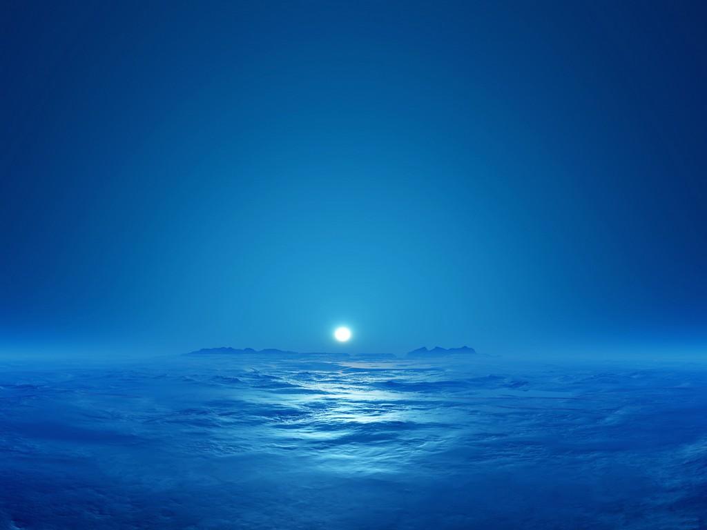 Красивые картинки синего цвета 6