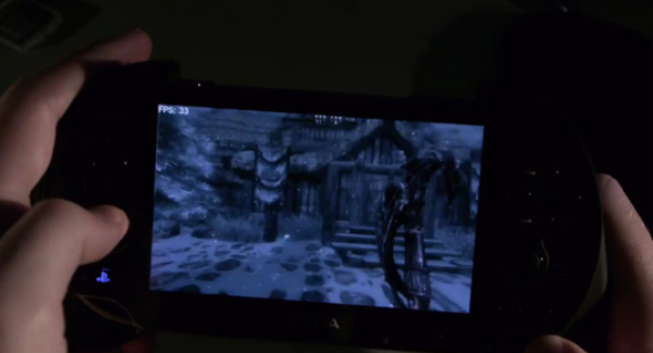 The Elder Scrolls Vita : Skyrim на vita — elder scrolls v the Игры