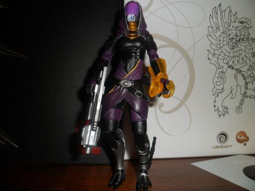 Mass Effect 3 - Tali'Zorah Action Figure - обзор