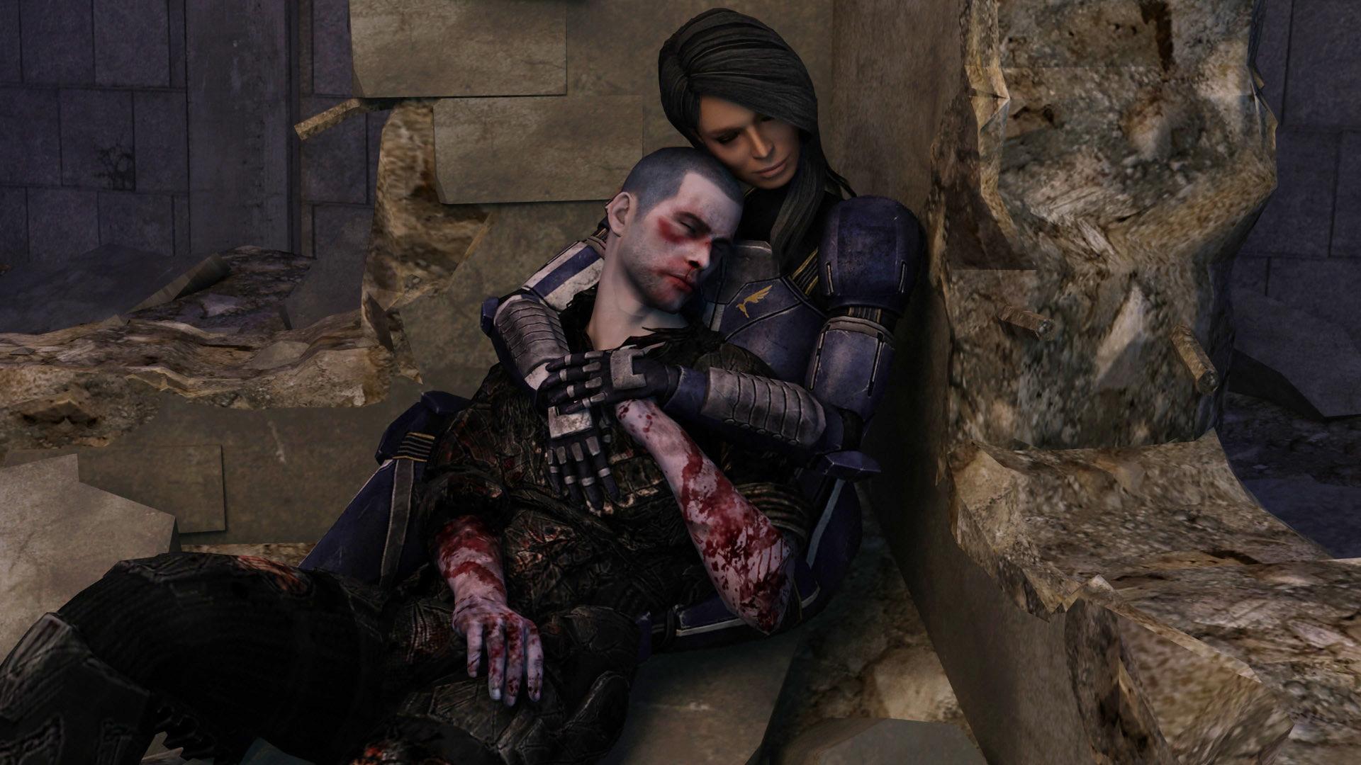 Mass Effect моды на Внешность