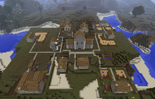 Minecraft - Millenaire - мод на деревни.