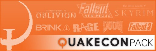 Скидка 79% на Quakecon Bundle