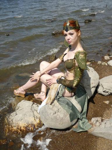 Elder Scrolls III: Morrowind, The - Косплей Альмалексии от AnhenRose.