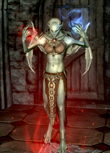 скачать мод на скайрим на новые способности вампира лорда - фото 11