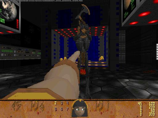 Doom II - ZDOOM - новая жизнь старого доброго Doom'a.