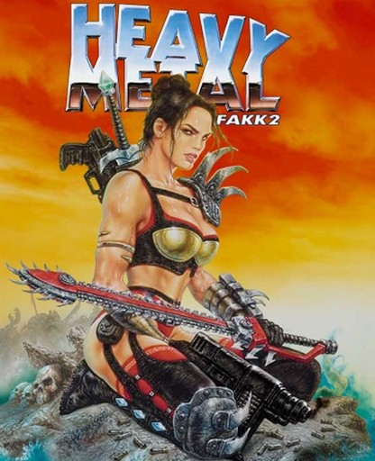 CD Игры Action Heavy Metal FAKK-2.