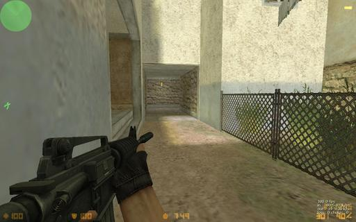 Half-Life: Counter-Strike - Обзор новенькой авторской карты - de_tuscan_2x2