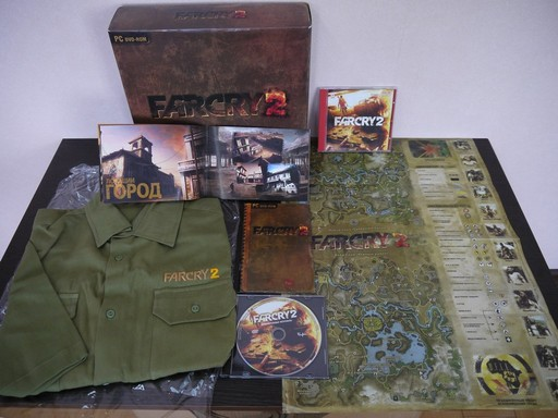 Far Cry 2 - Far Cry 2. Подарочное издание (PC DVD)