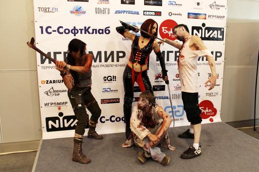 ИгроМир - ИГРОМИР 2012: Лара Крофт =)