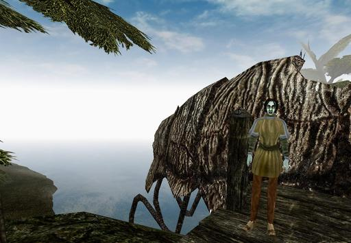 Elder Scrolls III: Morrowind, The - На склонах Красной горы