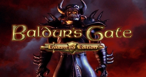 Baldur's Gate - BG: Enhanced Edition - знакомство с The Black Pits и новая заставка