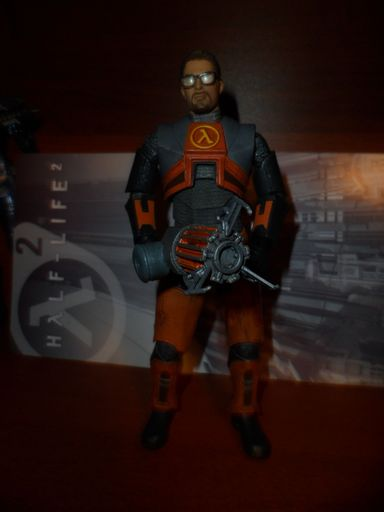 Обо всем - Gordon Freeman Action Figure - обзор