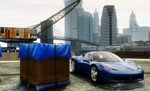 Grand Theft Auto IV - Демонстрация альфа-версии iCEnhancer 2.5