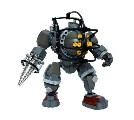 BioShock - Bioshok - LEGO Big Daddy
