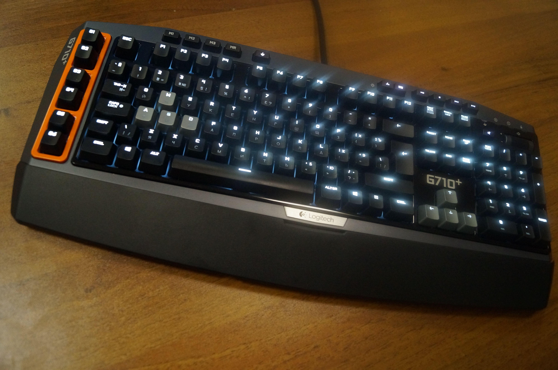Клавиатура LOGITECH G710+ (механика) (3000 ...