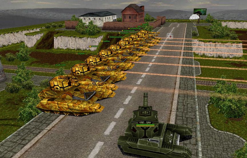 Играть в tank pro java game download