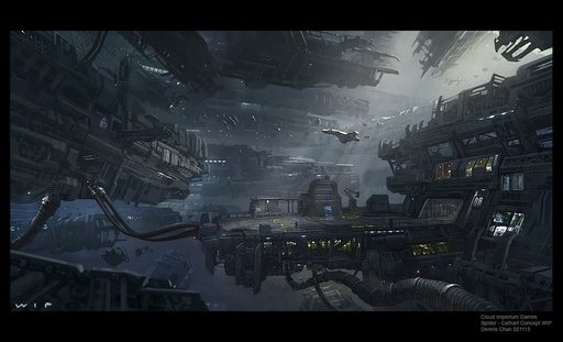 Star Citizen - Star Citizen / Squadron 42. The Vault. Локации. Cathcart Spider, Sol Earth Moscow, Terra