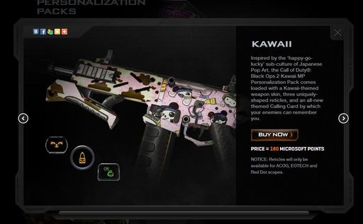 Call of Duty: Black Ops 2 - Personalization Packs для Black Ops 2