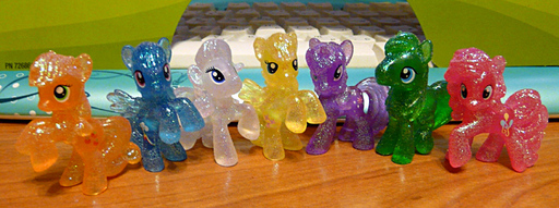 Распаковка и обзор набора MLP Rainbow Collection Crystal Empire