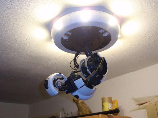 Portal 2 - Своими руками. GlaDOS в вашей гостиной.