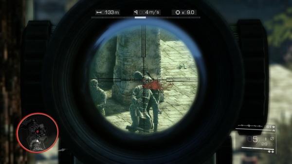 снайпер воин-призрак 2 прохождение