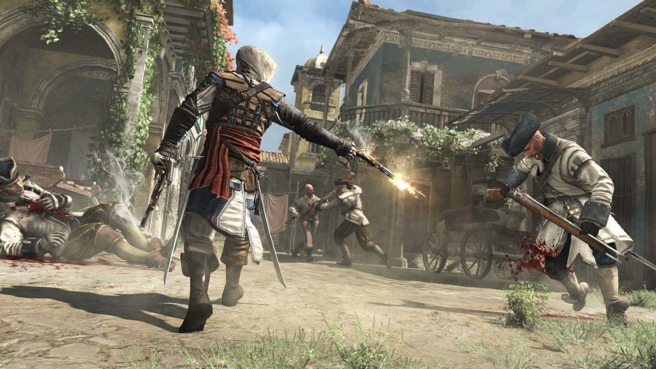 Скачать игру на пк assassins creed 4