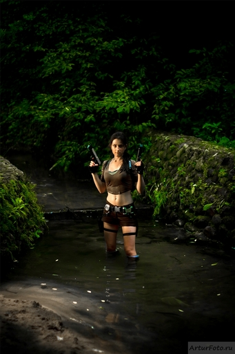 "Tomb Raider: Легенда - ""Tomb Raider: Legend"" cosplay"