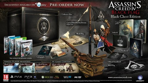Assassin's Creed IV: Black Flag - Assassin's Creed IV. Черный флаг. Black Chest Edition