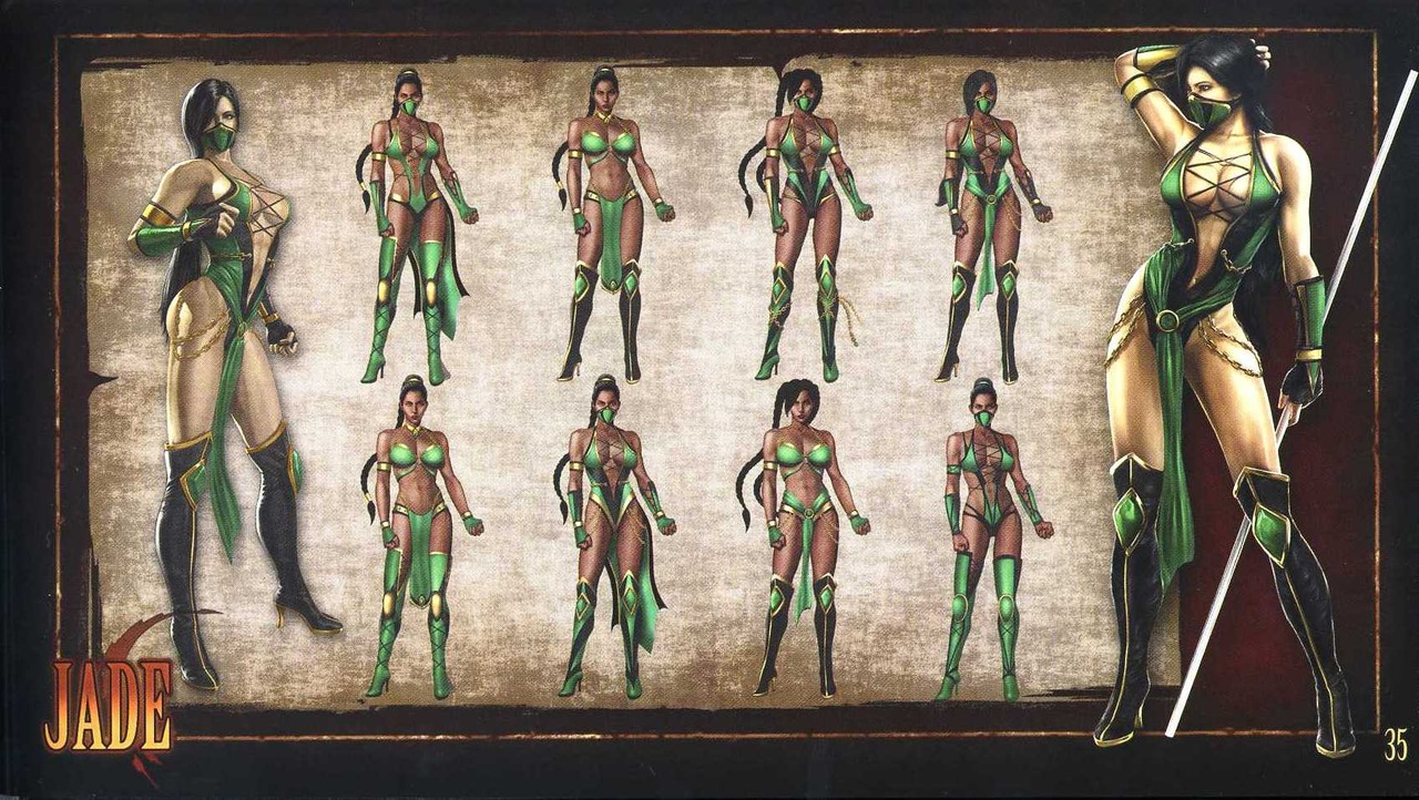 Pics of jade in mortal kombat 9  hardcore galleries
