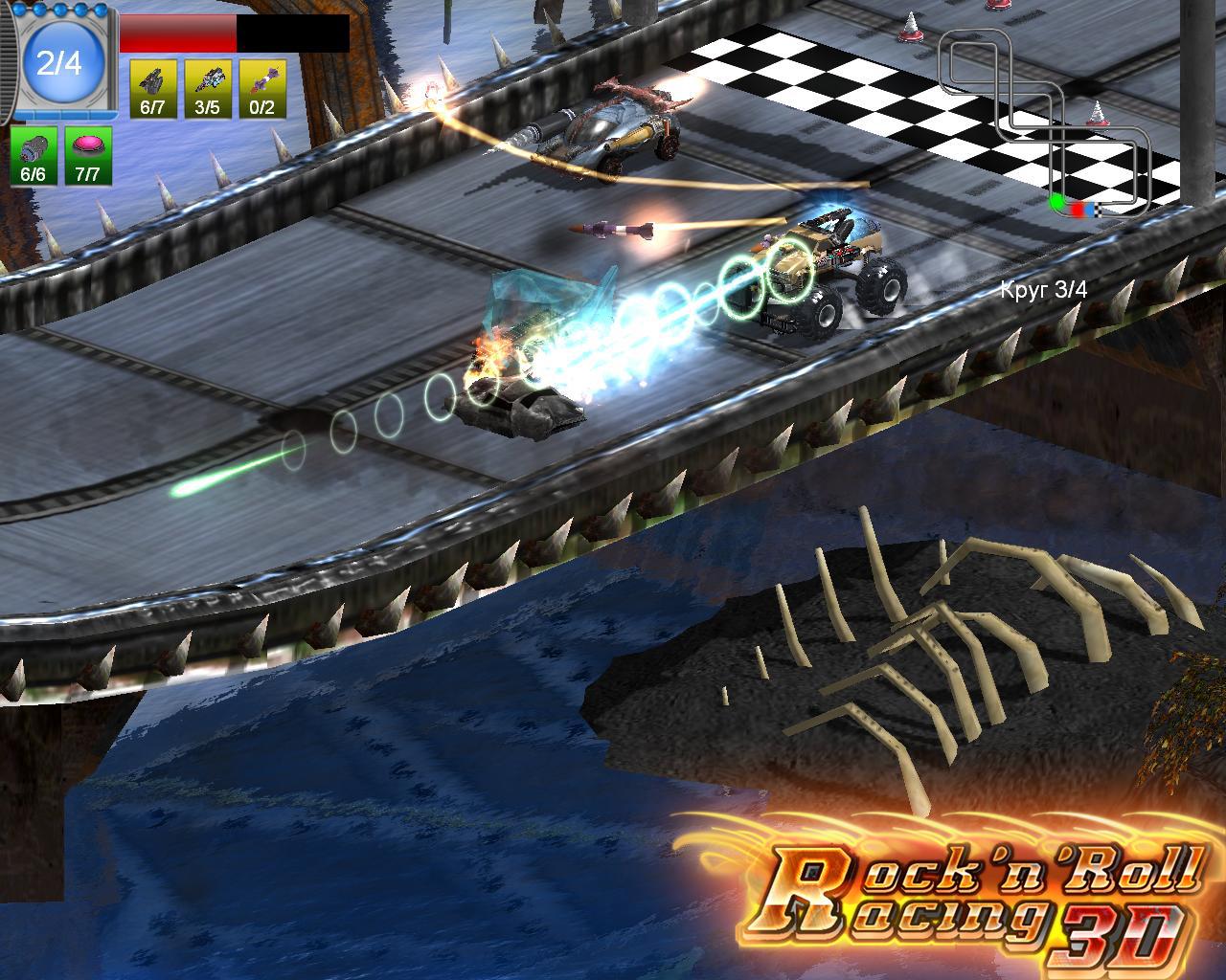 Rock 'n roll racing 3d:: tapochek. Net.