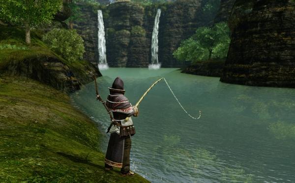 как в revelations поймать рыбу